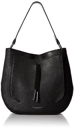Amazon.com: Marc Jacobs Maverick Hobo, Black: Clothing