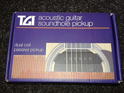 Guitarra acústica pastilla: Amazon.es: Instrumentos musicales