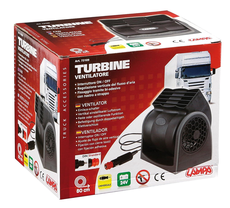 Lampa 73109 Turbine Ventilatore a Doppia velocit/à