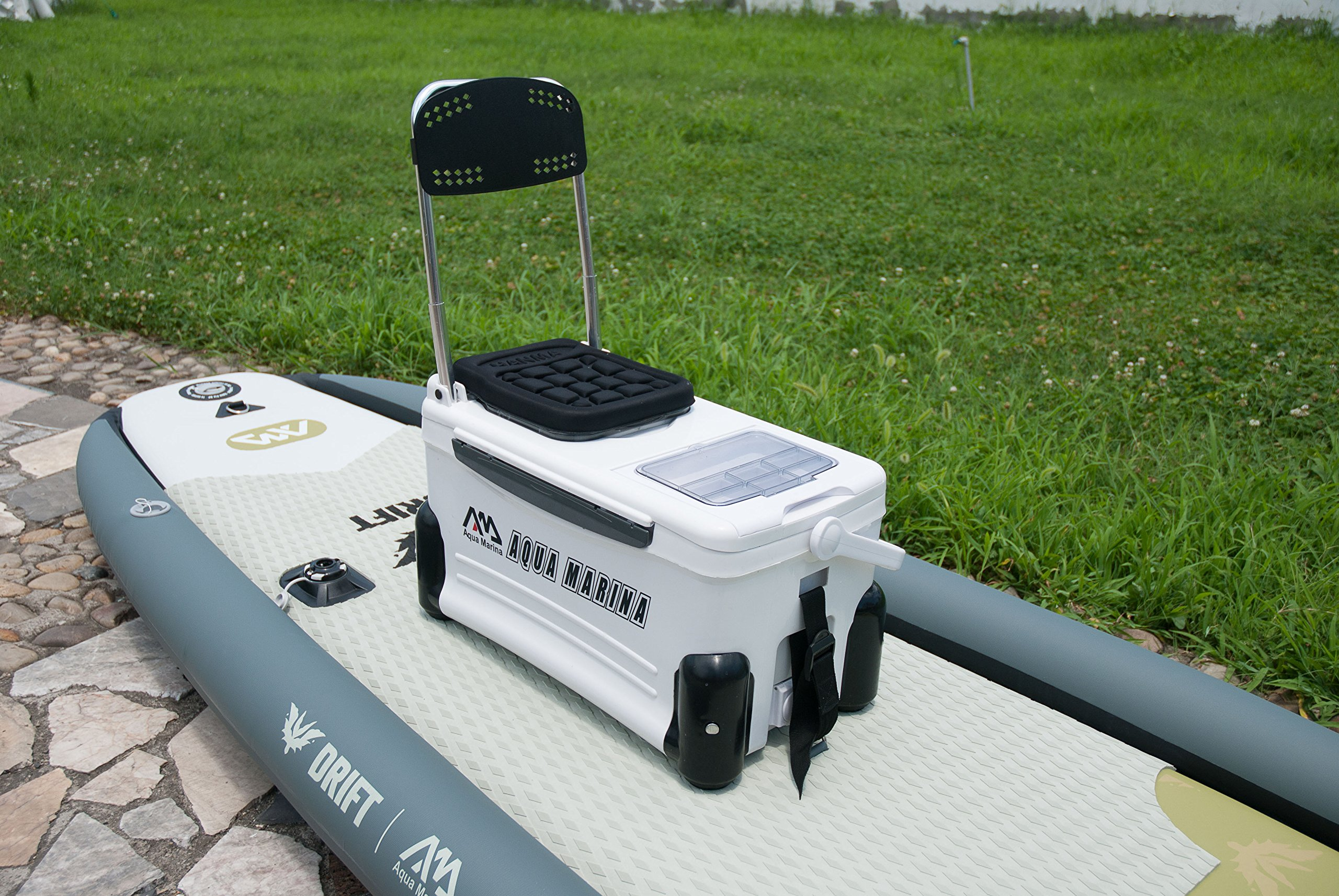Aqua Marina Kool Isup Fishing Cooler with Highback Support,