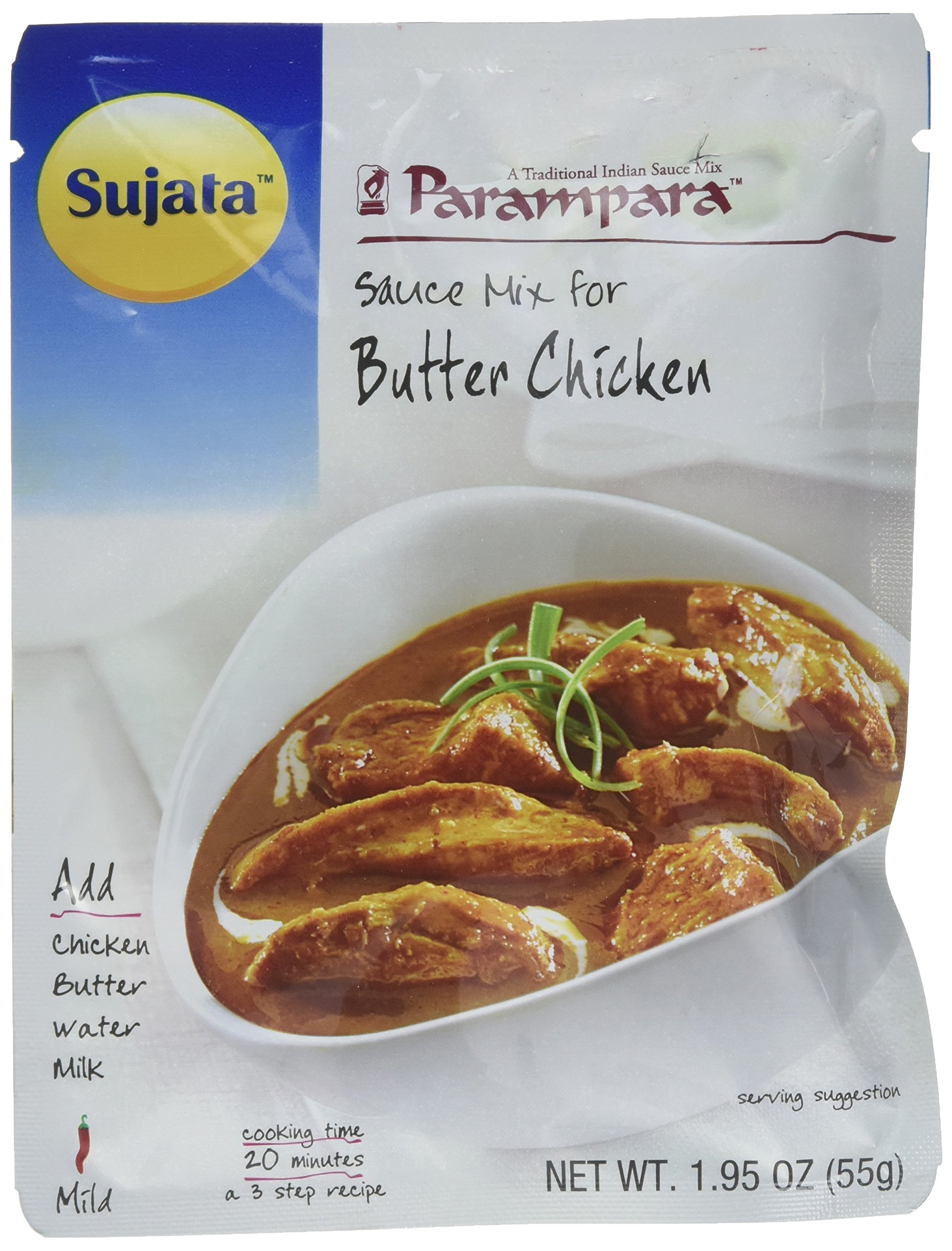 Parampara Butter Chicken Ready to Cook Sauce Mix 2.8 Oz (Pack of 2) (Free Shipping)