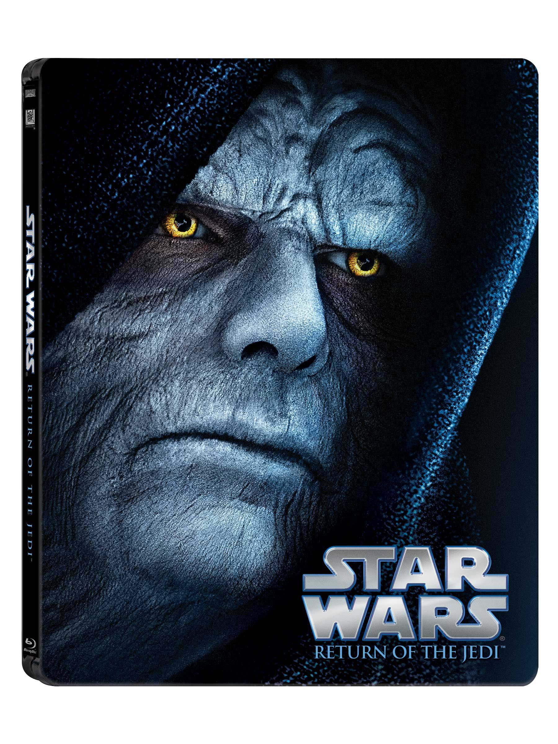 Blu-ray : Star Wars: Return of the Jedi (Steelbook, Dubbed, , Widescreen, Digital Theater System)