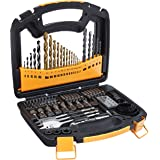 AmazonBasics Drill and Driver Multi-Bit Set - 100-Piece