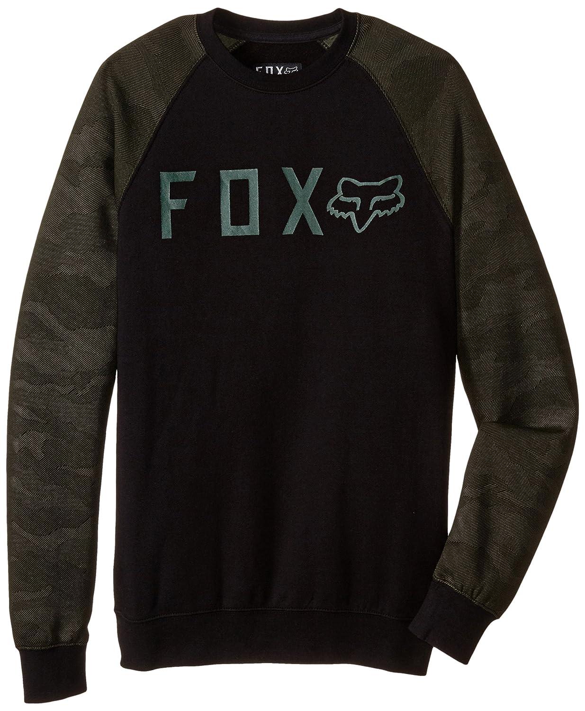 Sudadera Fox Racing: Tresspass Crew Fleece Camo Blk BK XL: Amazon.es: Ropa y accesorios