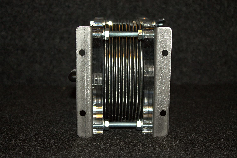 HHO Generator BEC-1500 Dry Cell 11 Plates INOX HYDROGEN Fuel Economy