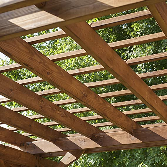 Backyard Discovery Cedar Pergola: Amazon.es: Jardín