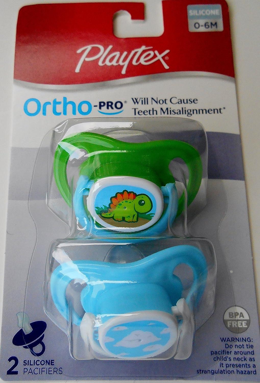 Amazon.com: Playtex ortho-pro – Chupetes de silicona ...