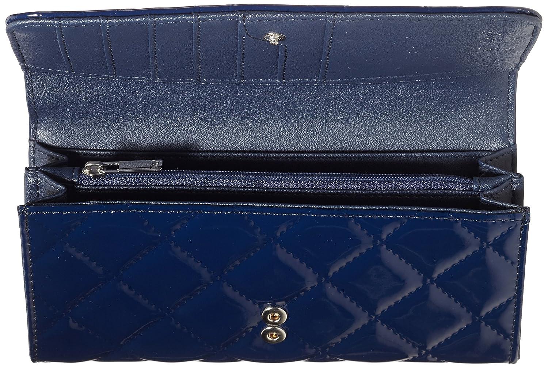 Armani Jeans B5V41V4, Portefeuille femme - Bleu - Blau (BLU - BLUE 5X),  19x11x2 cm (B x H x T)  Amazon.fr  Chaussures et Sacs edc3c952ec1