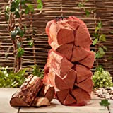 Softwood Firewood Logs 15kg Net of Kiln Dried Chunky Logs - Jumbo 60 litre net, 25cm long. Soft Wood Perfect for Wood Burner, Stoves, Log Burners - 50% More Logs than Hardwood for The Same Price. Fast Delivery