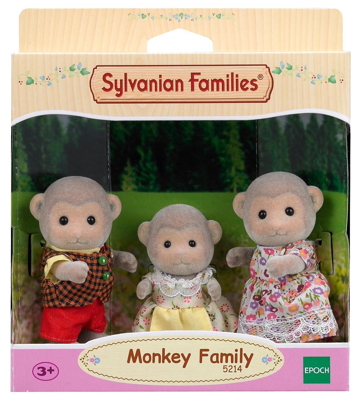 Sylvanian Families-5054131052143 Familia Monos (Epoch para Imaginar 5214)