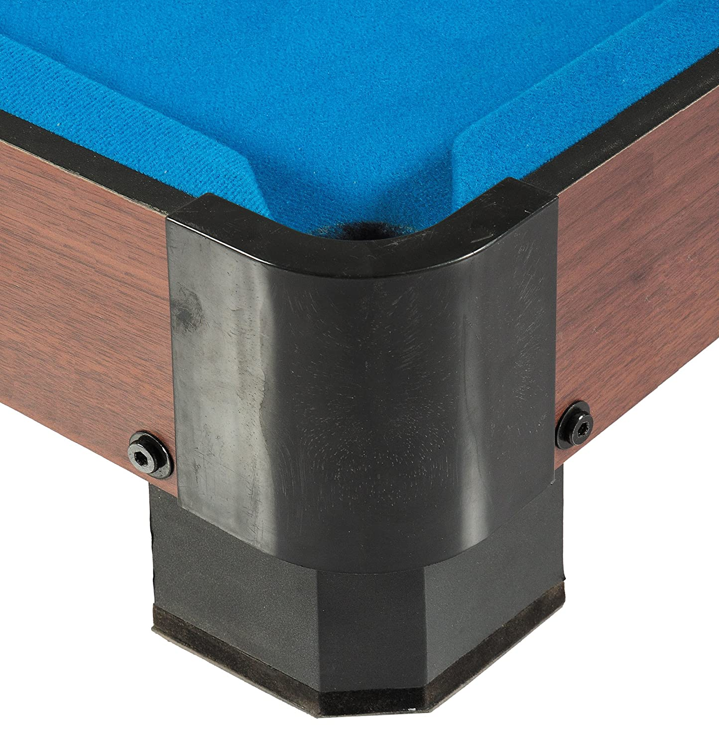 Amazoncom Hathaway Sharp Shooter Pool Table Blue Inch - L shaped pool table