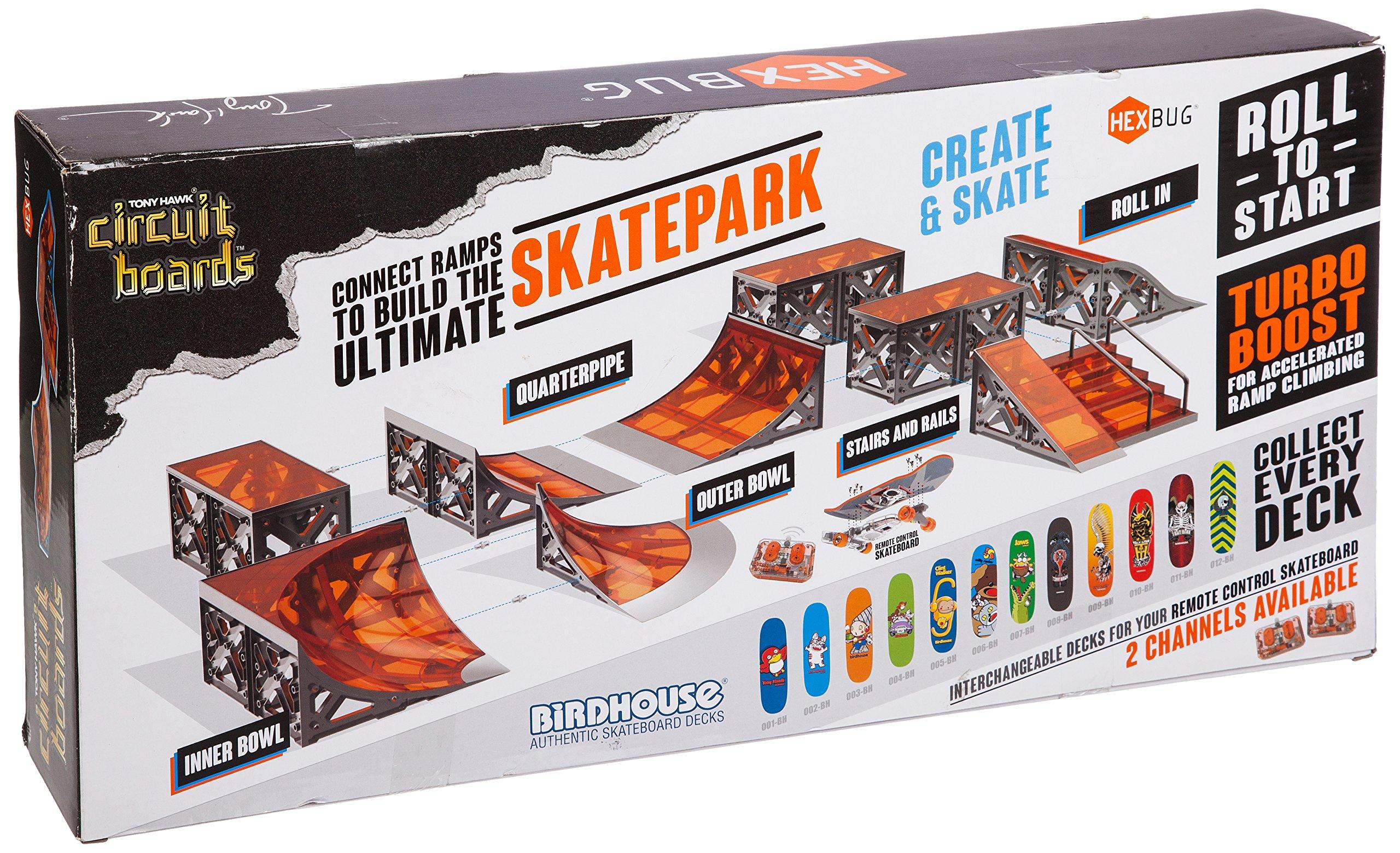 HEXBUG Tony Hawk Circuit Boards Skatepark - Colors May Vary by HEXBUG (Image #1)