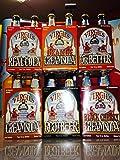 Virgil's Sampler Case of 24-12 ounce bottles - Six 4 packs: Root Beer, Cream Soda, Black Cherry Cream Soda, Real Cola, Orange Cream Soda and Dr. Better