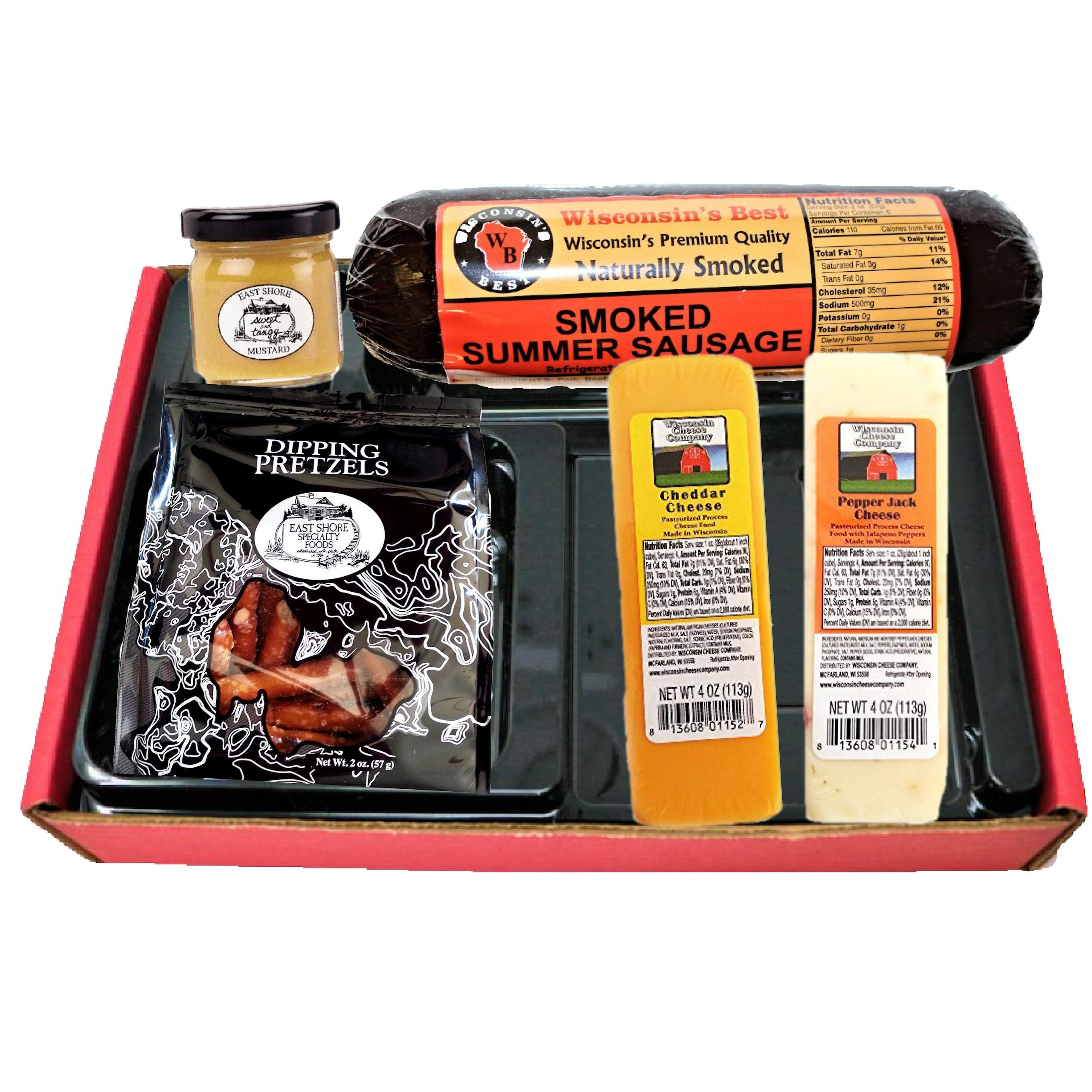 8cab429cb282 Amazon.com   Classic Man Snack Gift Basket-Summer Sausage