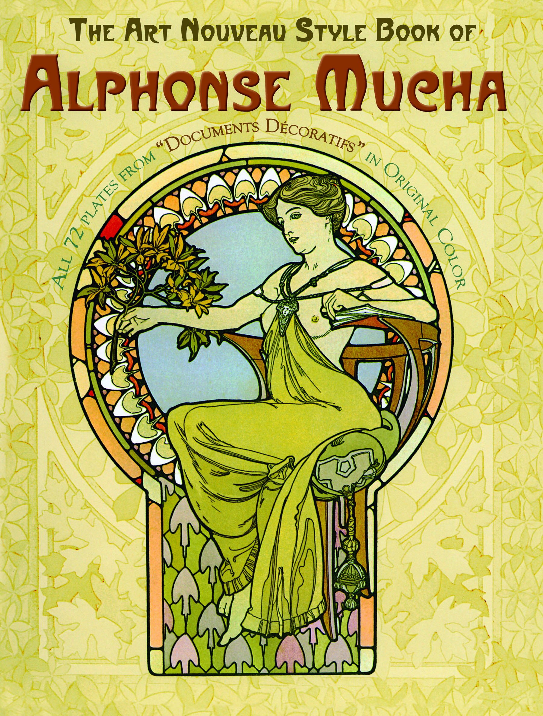 amazon the art nouveau style book of alphonse mucha dover fine