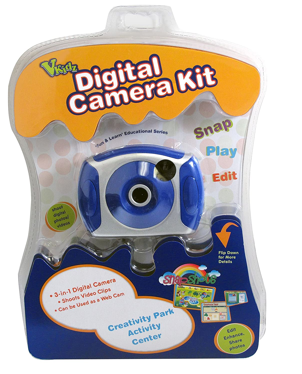 Kidz 88377 Kids Digital Camera - Colors May Vary Sakar Intl