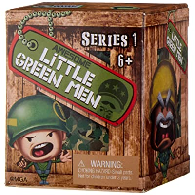 Awesome Little Green Men Mystery 6 Pack Action Figure Toy: Toys & Games