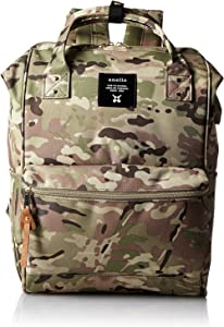 Anello Polyester Canvas Backpacks Japan import (Light Camouflage)