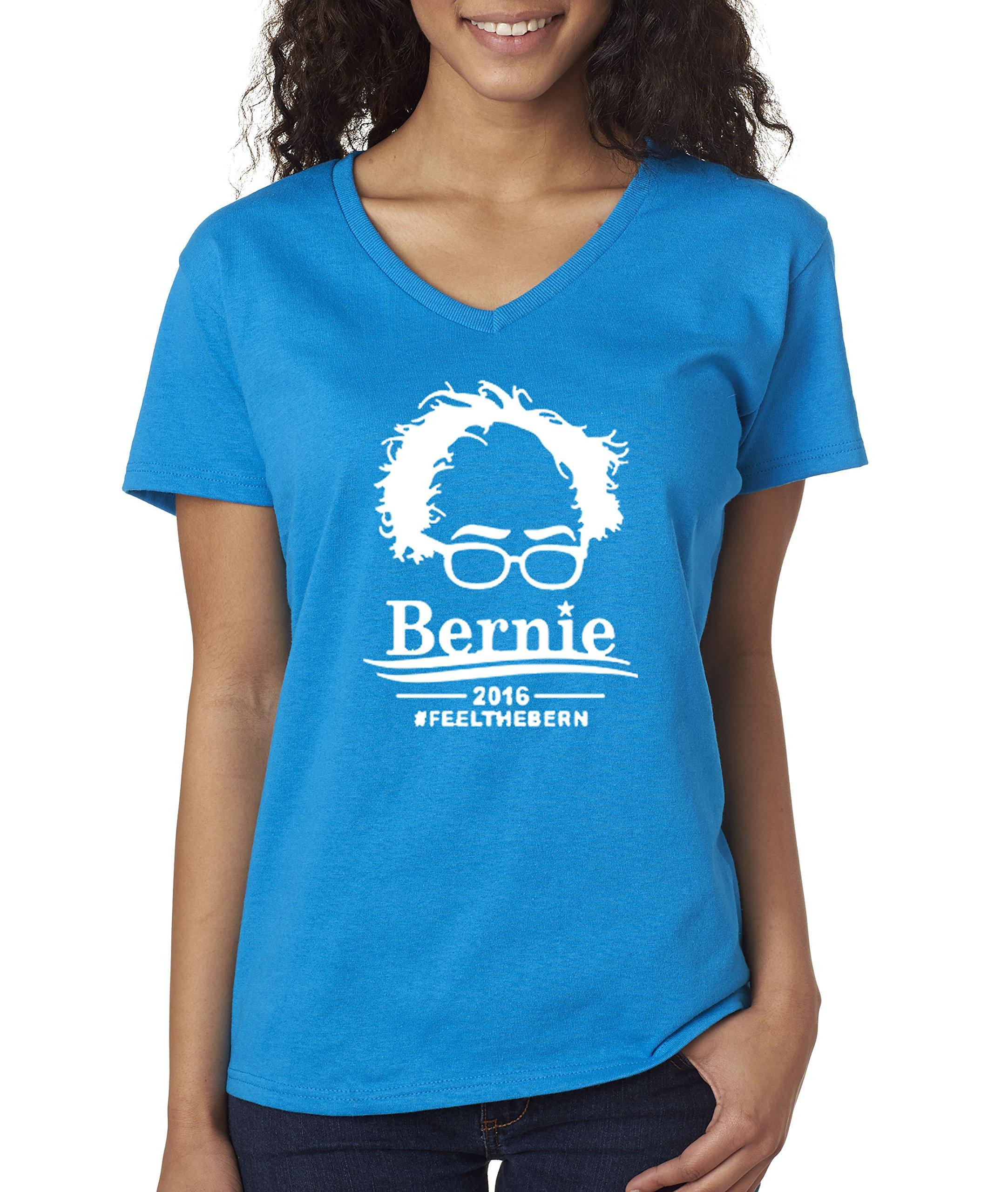 421 T Shirt Bernie Sanders Feel The Bern President Election 2016 Silhouette 9981