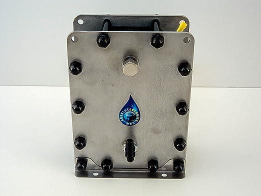 Hho Generator Bec 2500 Dry Cell 11 Plates 100 Inox Hydrogen Fuel Economy Auto