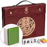 """Yellow Mountain Imports Professional Chinese Mahjong Game Set, """"Standard"""""""