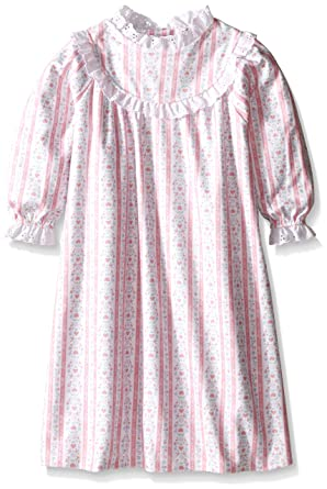 1e01c4d8d4 Lanz of Salzburg Tyrolean Flannel Nighty for Girls