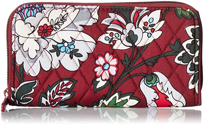 Image result for Vera Bradley Bordeaux Blooms Georgia wallet