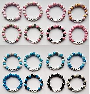 Kinderarmband Armband Mit Namen Personalisiert Ideal Geschenk Schutzengel Uhren & Schmuck
