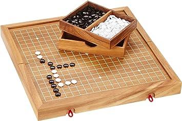 Philos 6320 Go & Go Bang - Juego de Estrategia (Instrucciones en inglés, 2 Jugadores): Amazon.es: Juguetes y juegos