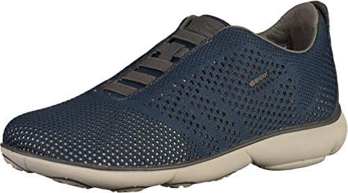 Geox U82D7B Herren Sneakers Blau, EU 46: : Schuhe