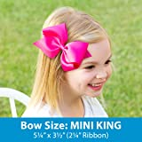 Wee Ones Baby Girls' Mini King Classic Grosgrain