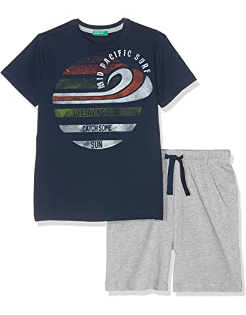 8e2a30e2a United Colors of Benetton Boy's Set T-Shirt+Shorts Clothing
