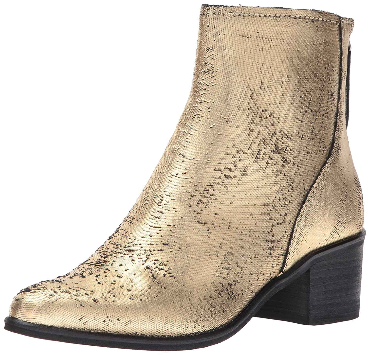 Dolce Vita Women's Cassius Ankle Boot B071G29HD2 9.5 B(M) US|Gold Leather