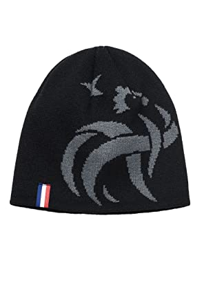8e24e320d76 Bonnet - Noir - Fédération Française de Football -FFF- Equipe de France de  Foot  Amazon.fr  Vêtements et accessoires