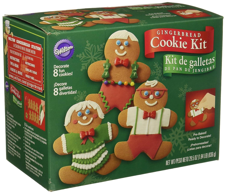 amazoncom wilton gingerbread boy cookie decorating kit kitchen dining