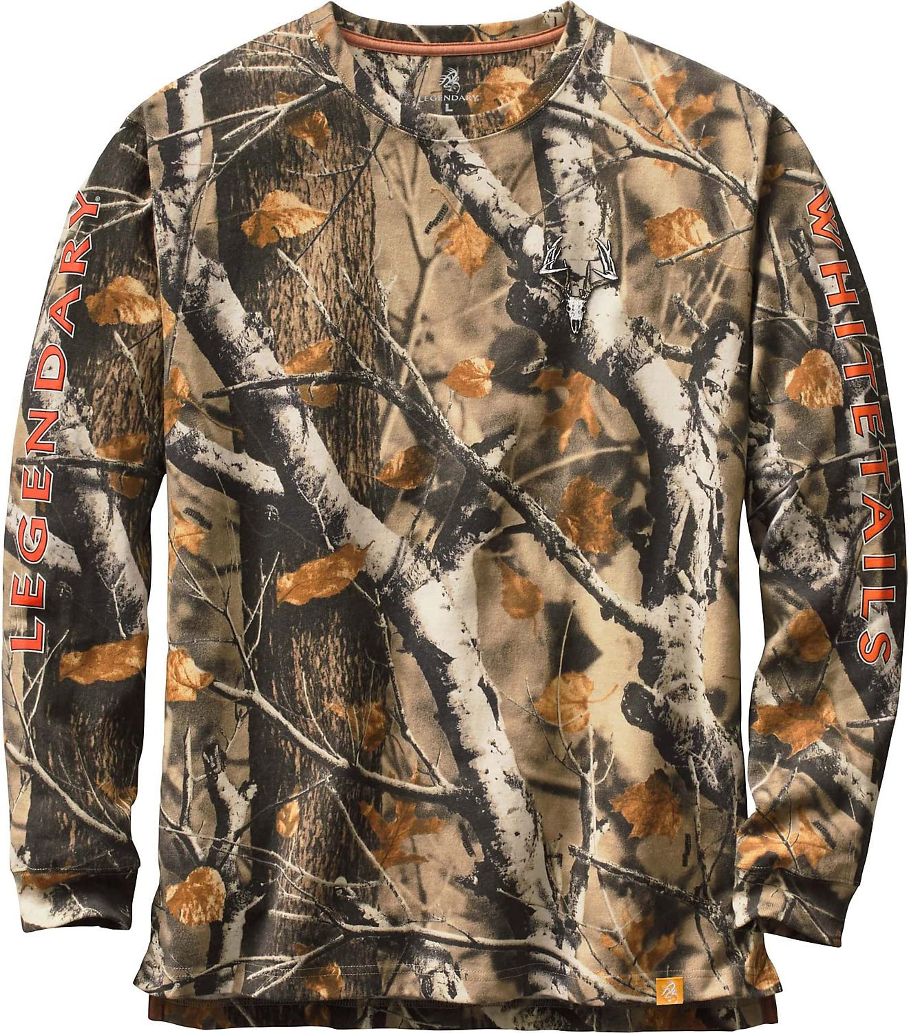 Legendary Whitetails Mens Non-Typical Series Long Sleeve T-Shirt