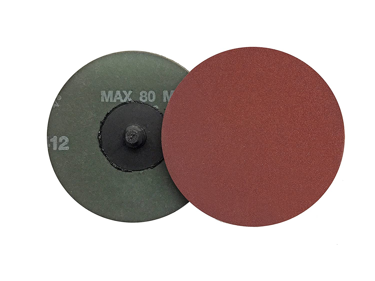 50G VSM Abrasives Co. Aluminum Oxide Type R Roll On Pack of 25 Series KK711Y VSM 71221 3 Quick Change Disc