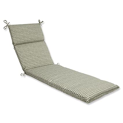 Pillow Perfect Outdoor Seeing Spots Sterling Chaise Lounge Cushion