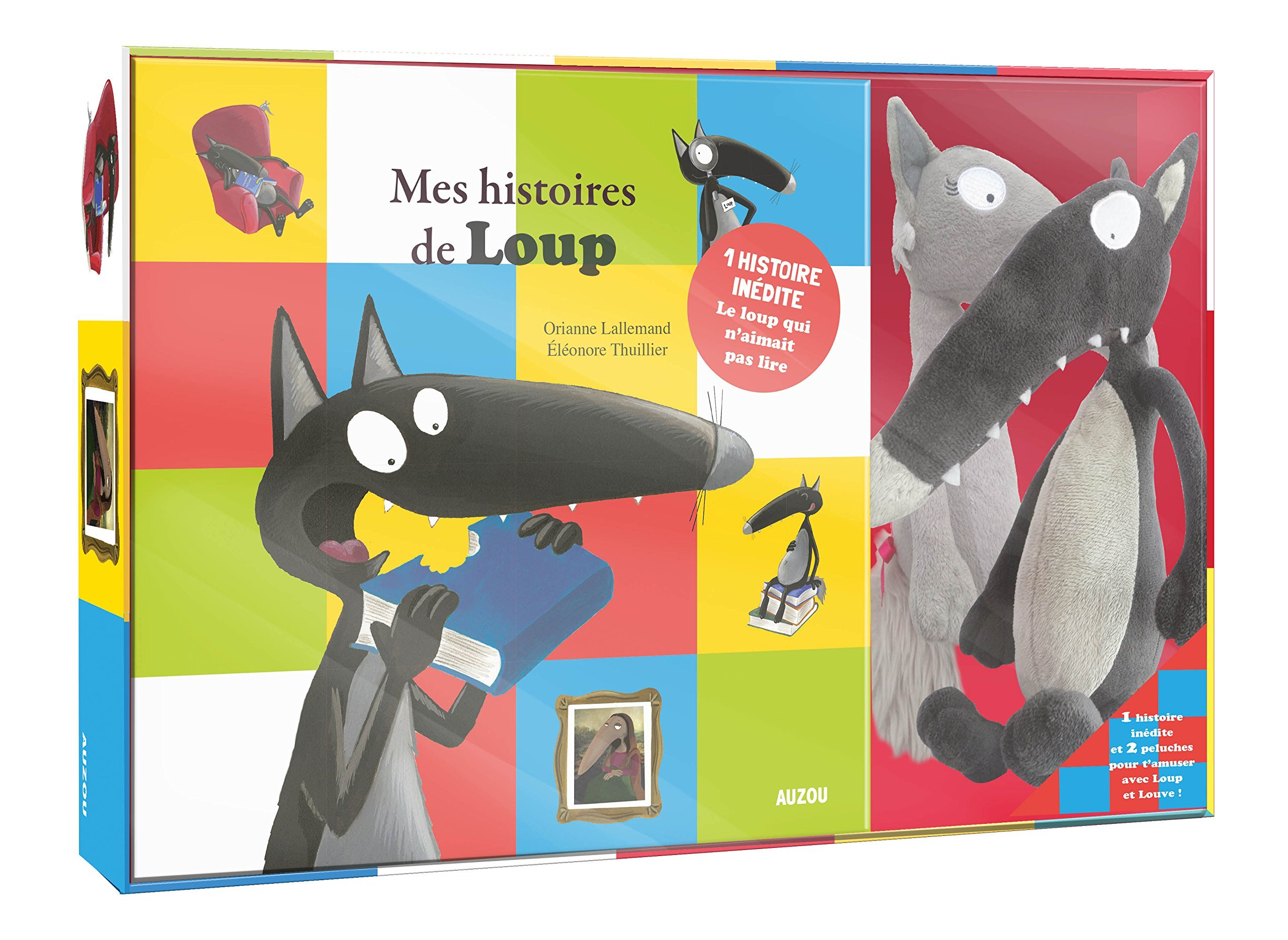 Le Loup - The Wolf - Coffret Recueil 2 titres (dont une histoire inédite) + 2 peluches - Boxed set with two stuffed animals ] (French Edition) ebook