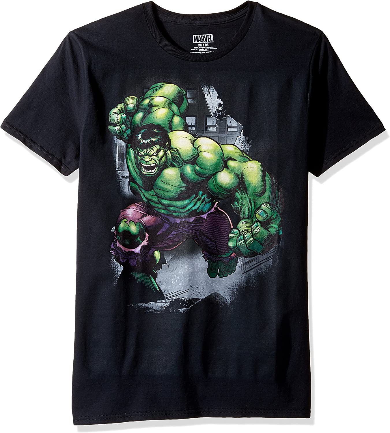 Officially Licensed Marvel Comics The Incredible Hulk Men/'s T-Shirt S-XXL Sizes