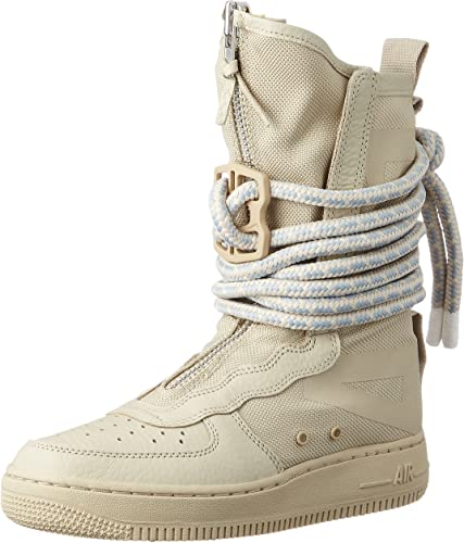 Nike SF Air Force High Top Womens Boots Rattan/Rattan/White aa3965-200