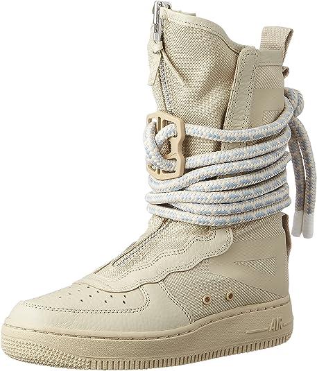 Nike SF Air Force High Top Womens Boots RattanRattanWhite aa3965 200
