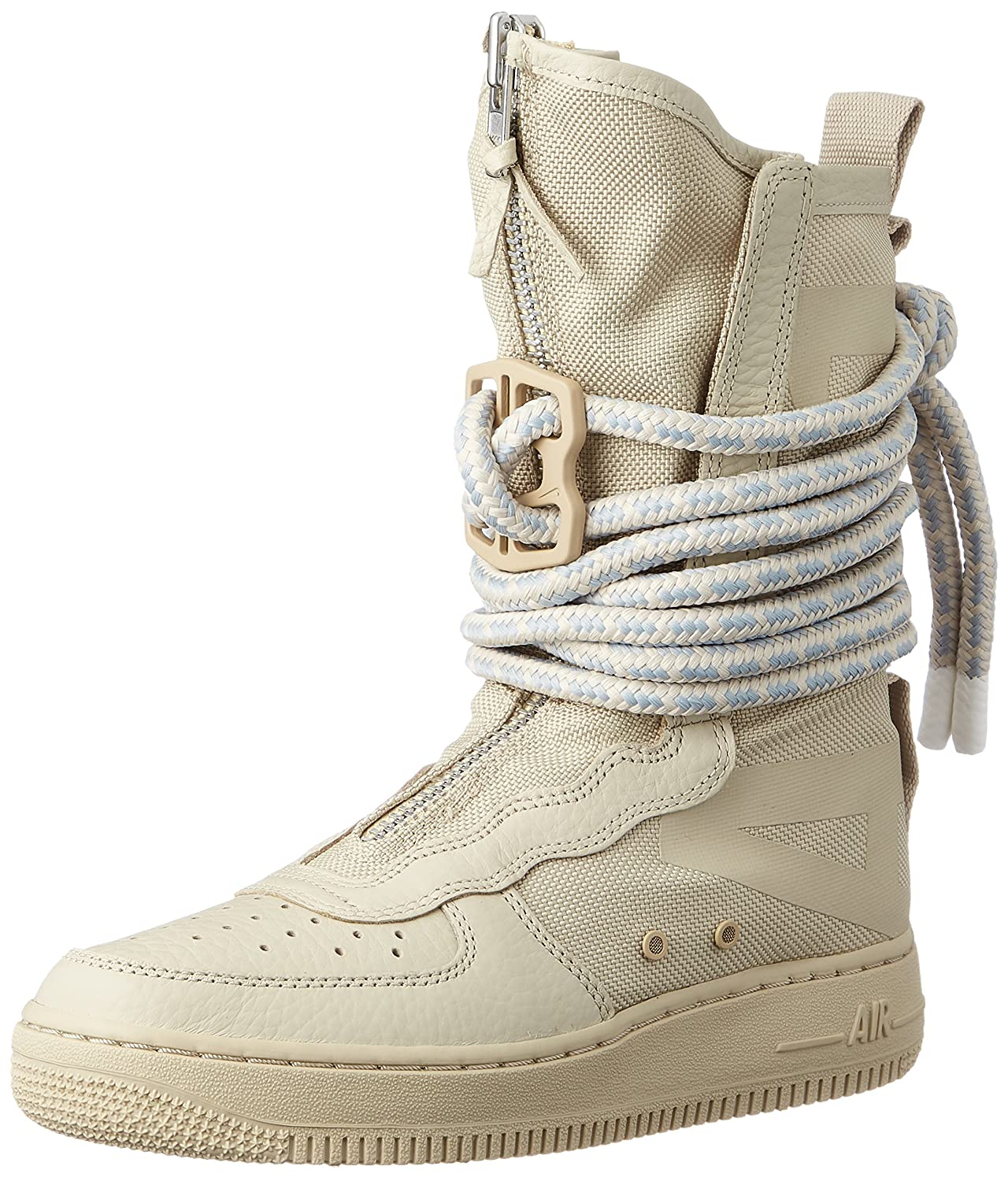 reputable site 8eae4 07928 Nike SF Air Force High Top Womens Boots Rattan/Rattan/White aa3965-200