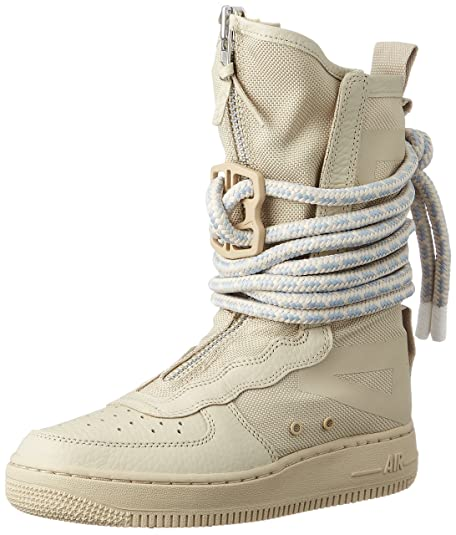 Nike SF Air Force High Top Womens Boots Rattan/Rattan/White aa3965,200