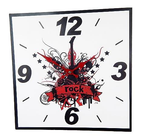 Reloj de Pared Diseno Reloj de Cocina decoracion (Rock)