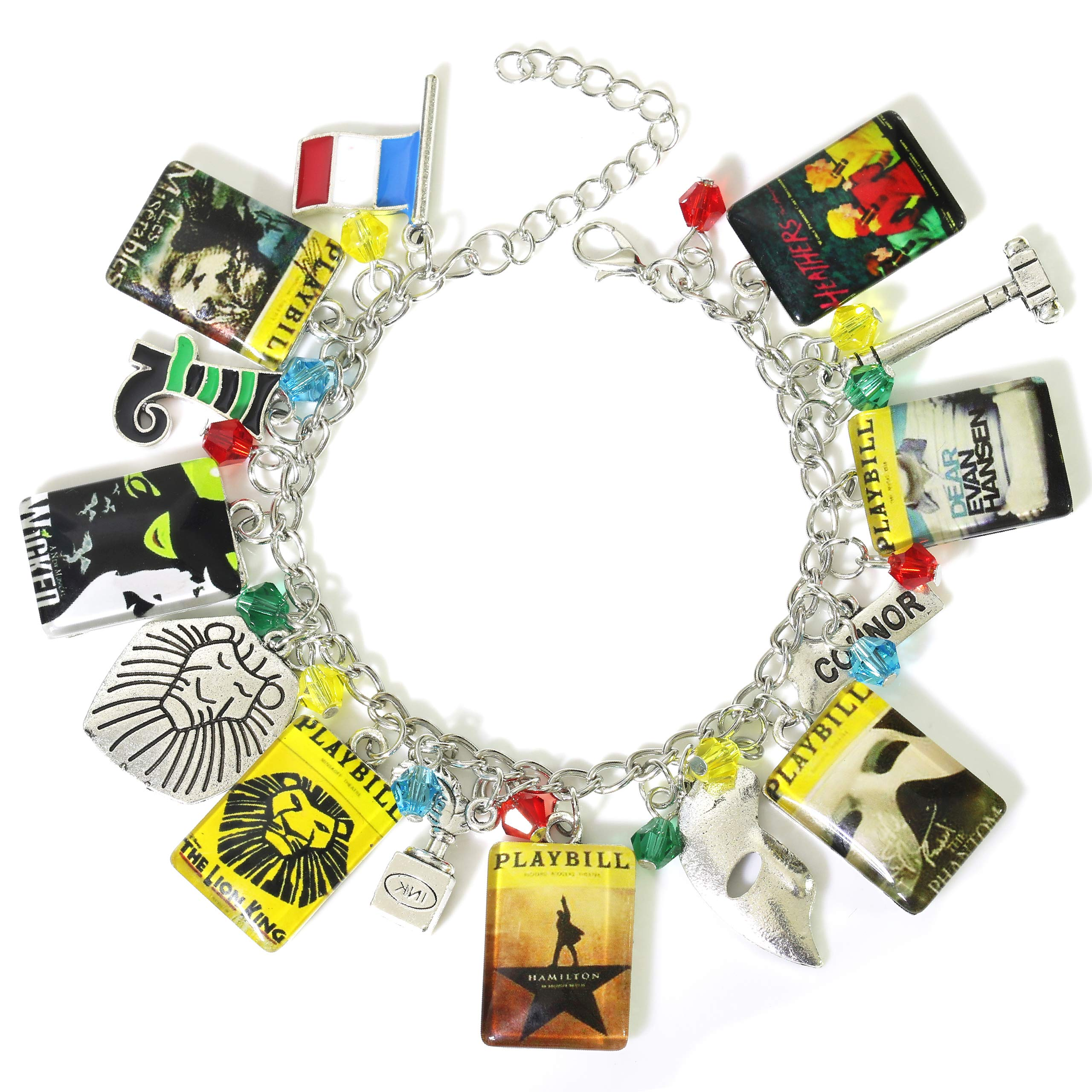 Lion King Broadway Musicals Charm Bracelet Quality Cosplay Jewelry Broadway Musical Series