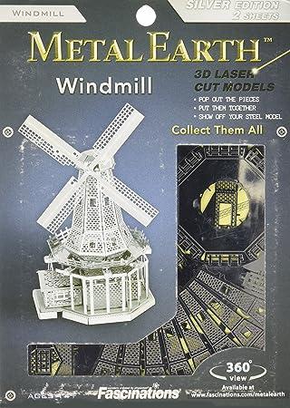 Metal Earth - Maqueta metálica Molino de viento , color/modelo ...