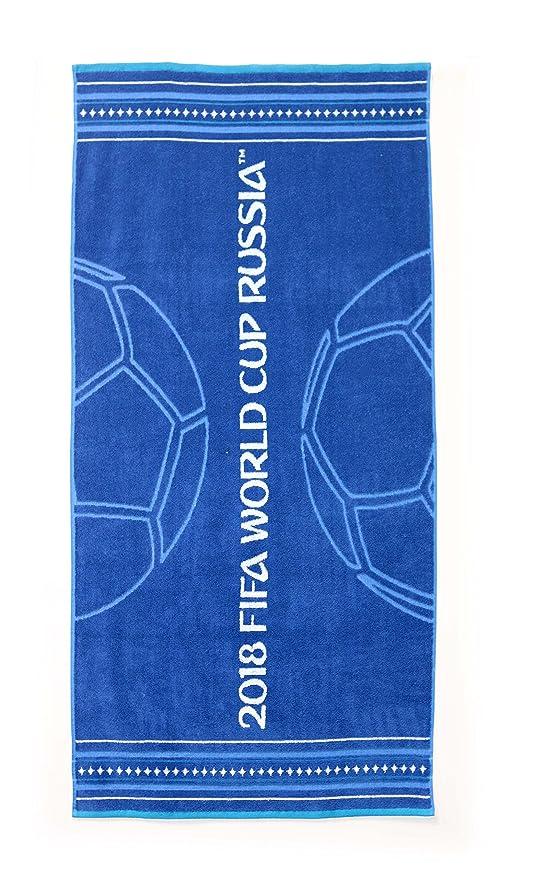 FIFA Oficial Russia WM 2018 Fútbol Toalla Toalla Goal World Cup Towel: Amazon.es: Deportes y aire libre