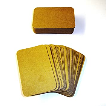 100 x kraft rounded blank business cards 270gsm brown kraft card 100 x kraft rounded blank business cards 270gsm brown kraft card uk card crafts colourmoves
