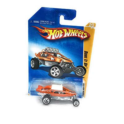 Hot Wheels 2009-020 New Models Dune It Up 1:64 Scale ORANGE: Toys & Games